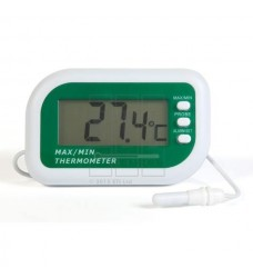 810-125 Ψηφιακό θερμόμετρο Μεγίστου-Ελαχίστου με ακροδέκτη και συναγερμό