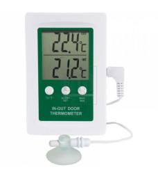 810-080  Θερμόμετρο εσωτερικής-εξωτερικής θερμοκρασίας