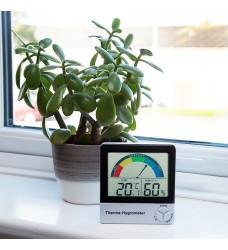 810-130 Υγρασιόμετρο-Θερμόμετρο με ένδειξη συνθηκών περιβάλλοντος